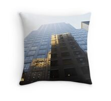 Building Reflections Throw Pillow
