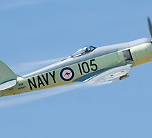 Sea Fury Climbing by gfydad