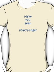 Mary Hinge T-Shirt