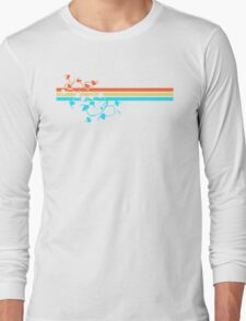 rainbow leaves Long Sleeve T-Shirt