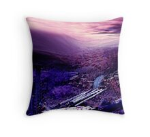happening sky.... Throw Pillow