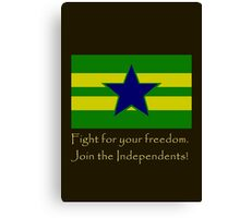 Firefly- Independents Canvas Print