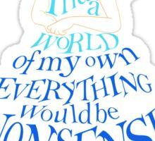 Alice Nonsense Sticker