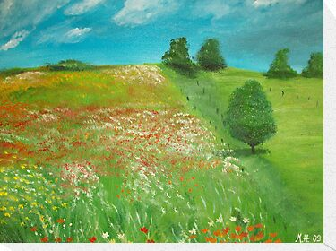 Polish meadow by Monika Howarth