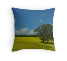 Summer on the South Downs Throw Pillow