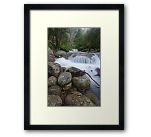 Eurobin Falls Framed Print