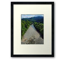 River Gary view Framed Print