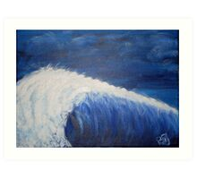 The First Big Wave Art Print