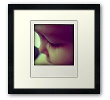 Not a portrait... Framed Print