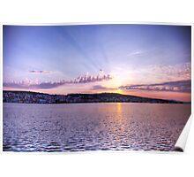 Kefalonian Sunset 6 Poster