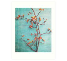 She Hung Her Dreams on Branches Art Print