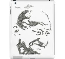Gandhi - Sketch iPad Case/Skin