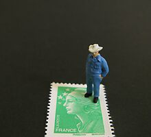 French Stamp by Dongedy