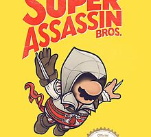 Super Assassin Bros. by MathijsVissers