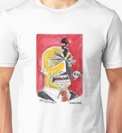 'Angry Man' Unisex T-Shirt