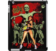 Zombie Killer Cheerleader iPad Case/Skin