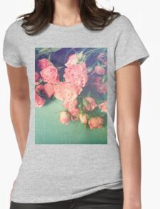 Garden Party Womens Fitted T-Shirt