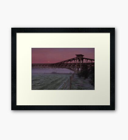 """Twilight Shroud"" Framed Print"