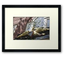 Old Salem Customs House Framed Print