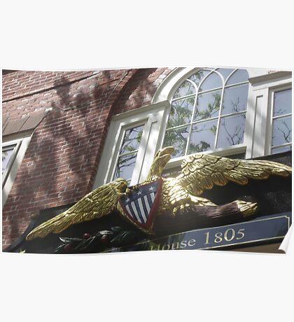 Old Salem Customs House Poster