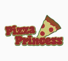 Pizza princess  One Piece - Short Sleeve