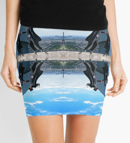 Jews in black can fly Color Mini Skirt