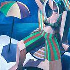 girl in the sun by Stephen Mclaren