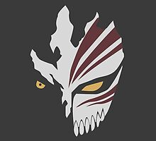 Hollow Mask Bleach Anime by oncemoreteez