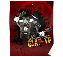 Borderlands - Gentleman Claptrap Poster