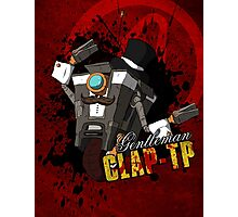 Borderlands - Gentleman Claptrap Photographic Print