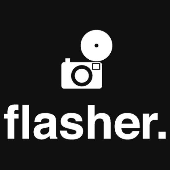 TShirtGifter presents: flasher. (photographer)