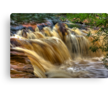 Wainwath Force - Keld 5 of 5 Canvas Print