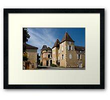 Goujounac Charm Framed Print