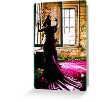 wired by touch Greeting Card
