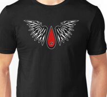 Sanguine Drop Angelic Unisex T-Shirt