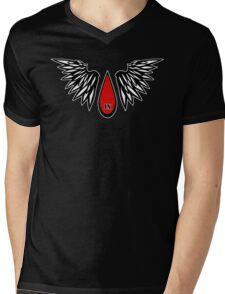 Sanguine Drop Angelic Mens V-Neck T-Shirt