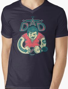 THE DAD Mens V-Neck T-Shirt
