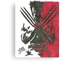 Wolverine - Movie Canvas Print