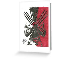 Wolverine - Movie Greeting Card