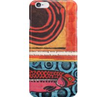 Funky Beach Pink Fish iPhone Case/Skin