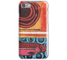 Funky Beach Pink Fish iPhone Case/Skin