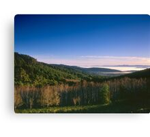 Mount Dandenong towards the Yarra Valley Canvas Print