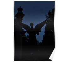 Beneficence in silhouette Poster