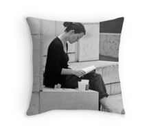A Quiet Read Throw Pillow