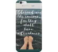 Blessed are the Curious iPhone Case/Skin