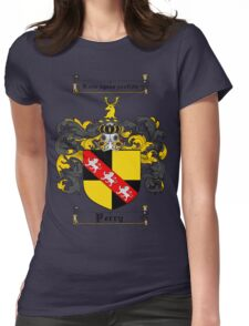 Perry Family Crest / Perry Coat of Arms T-Shirt Womens Fitted T-Shirt