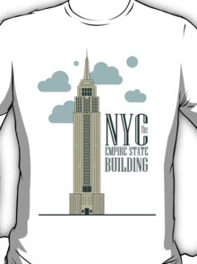 nyc, the empire state building T-Shirt