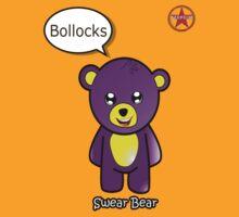 Geek Girl - SwearBear - Bollocks by AdeGee