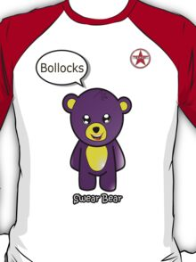Geek Girl - SwearBear - Bollocks T-Shirt