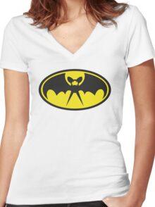The Zubatman Women's Fitted V-Neck T-Shirt